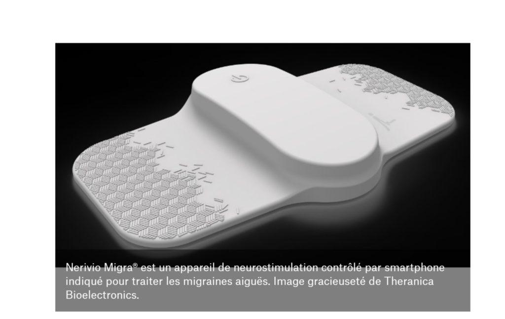 Migraine et dispositif Nerivio Migra